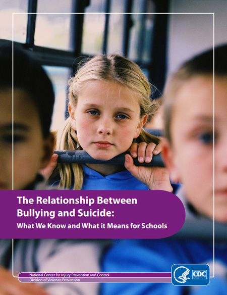 bullying and suicide document from the CDC
