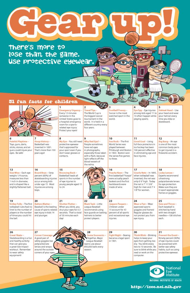 eye calendar