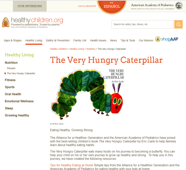HealthyChildren-Website