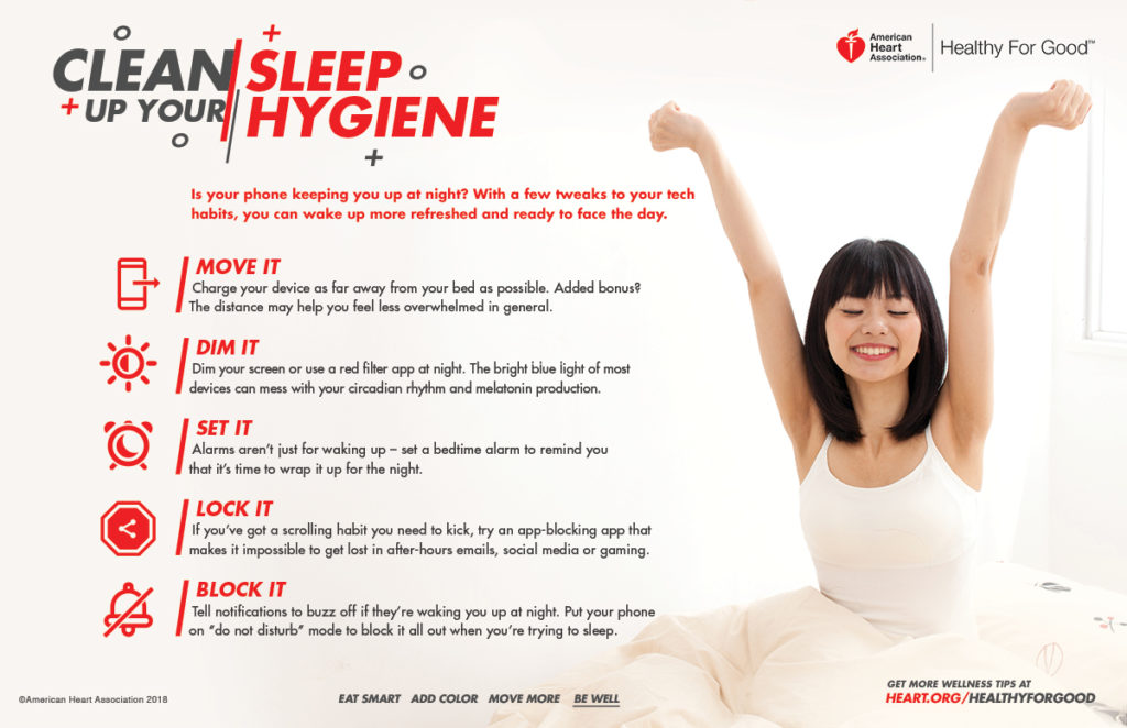 sleep hygiene tips